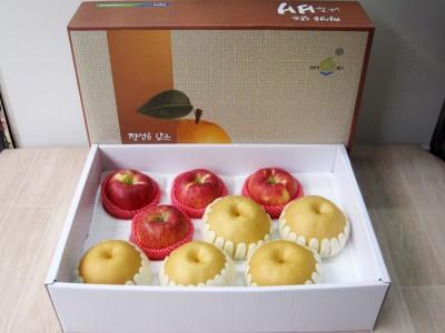 - 사과배 혼합선물세트9과 60,000원 -