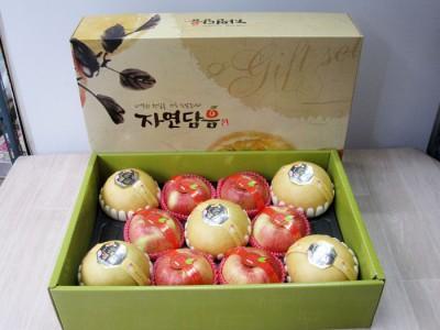 - 사과배 혼합선물세트(11과) 70,000원 -